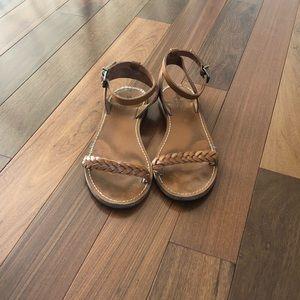 Madewell Tan Sandals